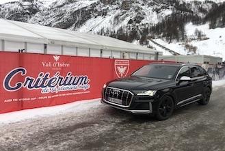 SQ7 Audi Val d'Isere
